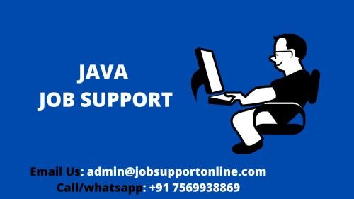 Java job support